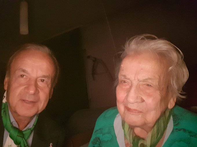 Gernot Rohr's Mother's Death At 97 Shocks Top Officials At Glasshouse