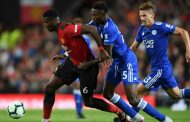 Ndidi Rues His Missed Scoring Chance In 1-0 Loss To Manchester United