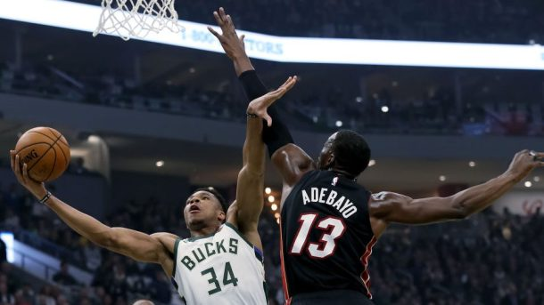 Adebayo Outshines Antetokounmpo In Miami Heats' NBA Win Over Bucks