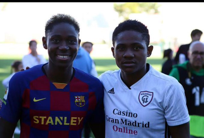 Chidinma Okeke Determined To Make Quick Recovery From Injury In Spain