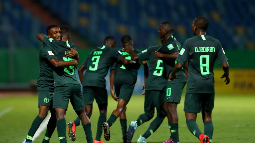 Eaglets' Players Attract Barcelona, AC Milan, Porto, Brugge, Other Top Clubs
