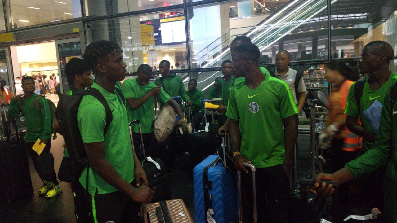 Golden Eaglets' Twelve Dropped Players Return Home On Tuesday