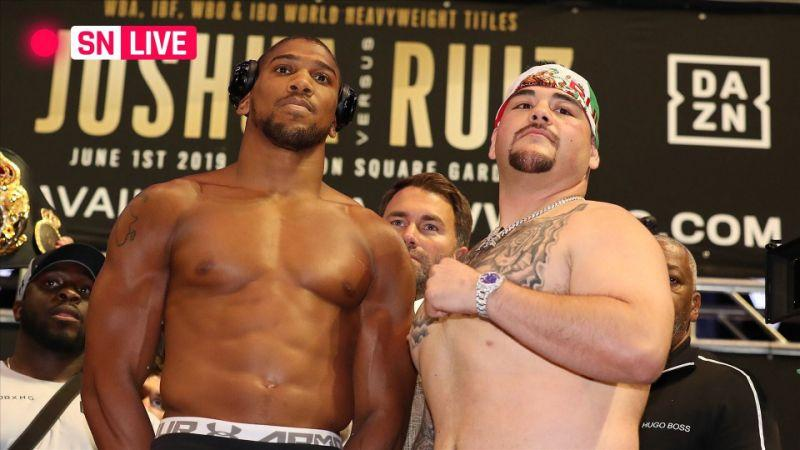 Joshua Gets Fresh Advice On How To Beat Ruiz In December 7 Rematch