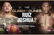 Joshua Gains Backing From Fury For Victory Against Ruiz On December 7