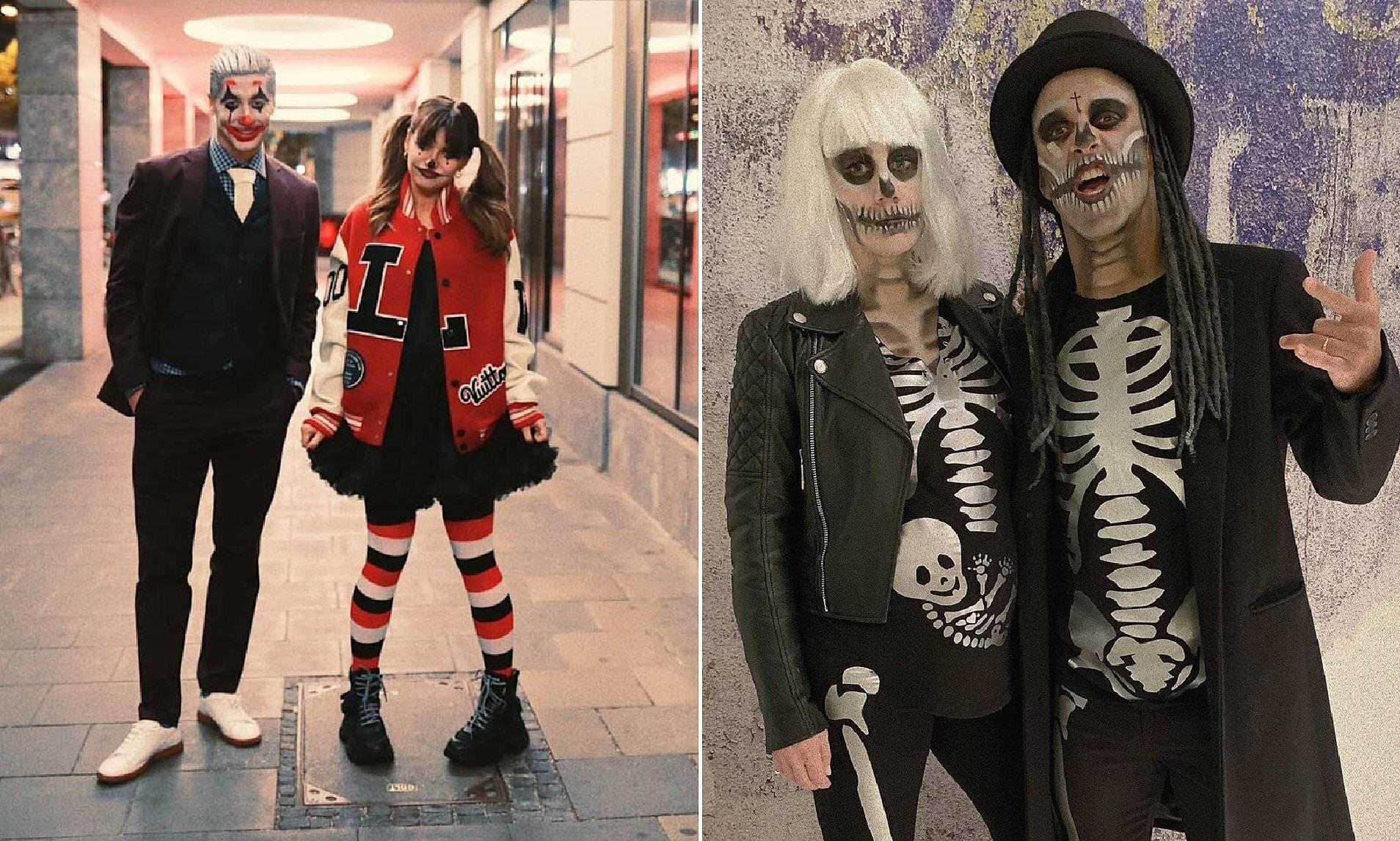 Lewandowski, Alcantara, Ronaldo Flaunt Scary Halloween Costumes