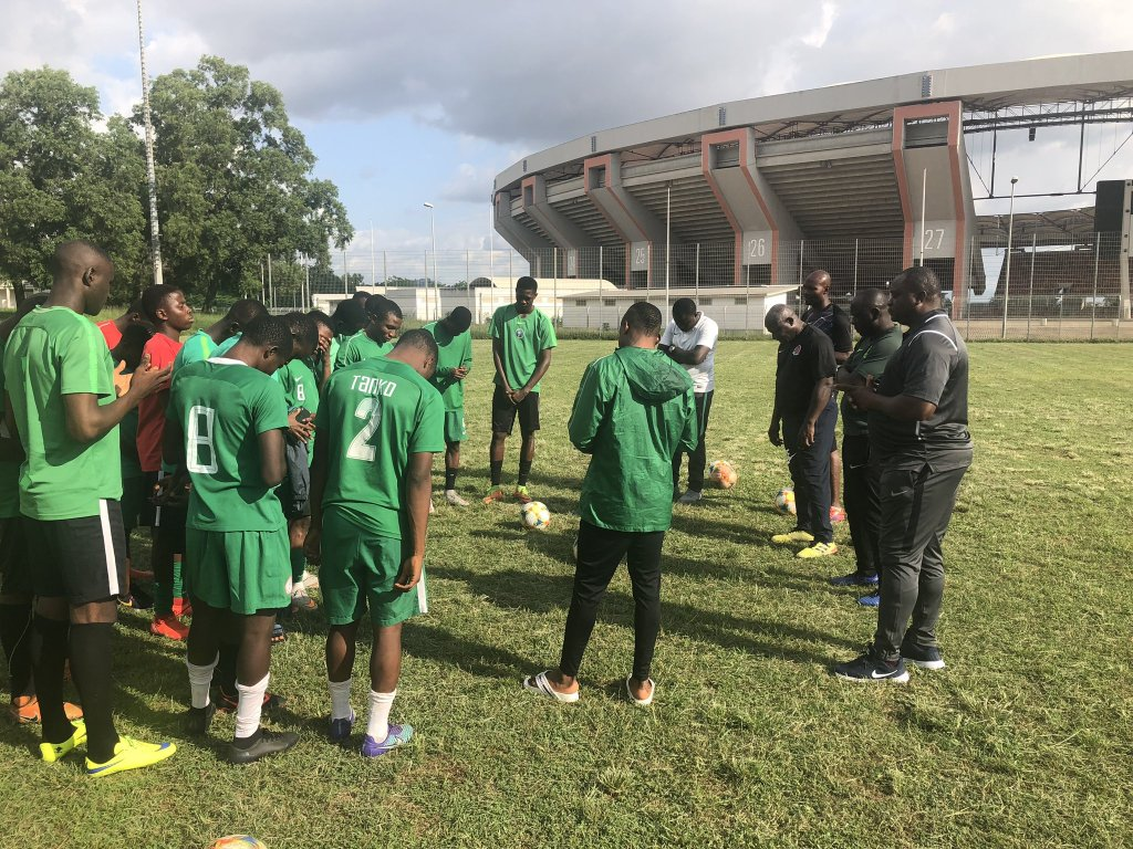 Manu Garba Finally Takes 25 Golden Eaglets' Players To Sao Paolo
