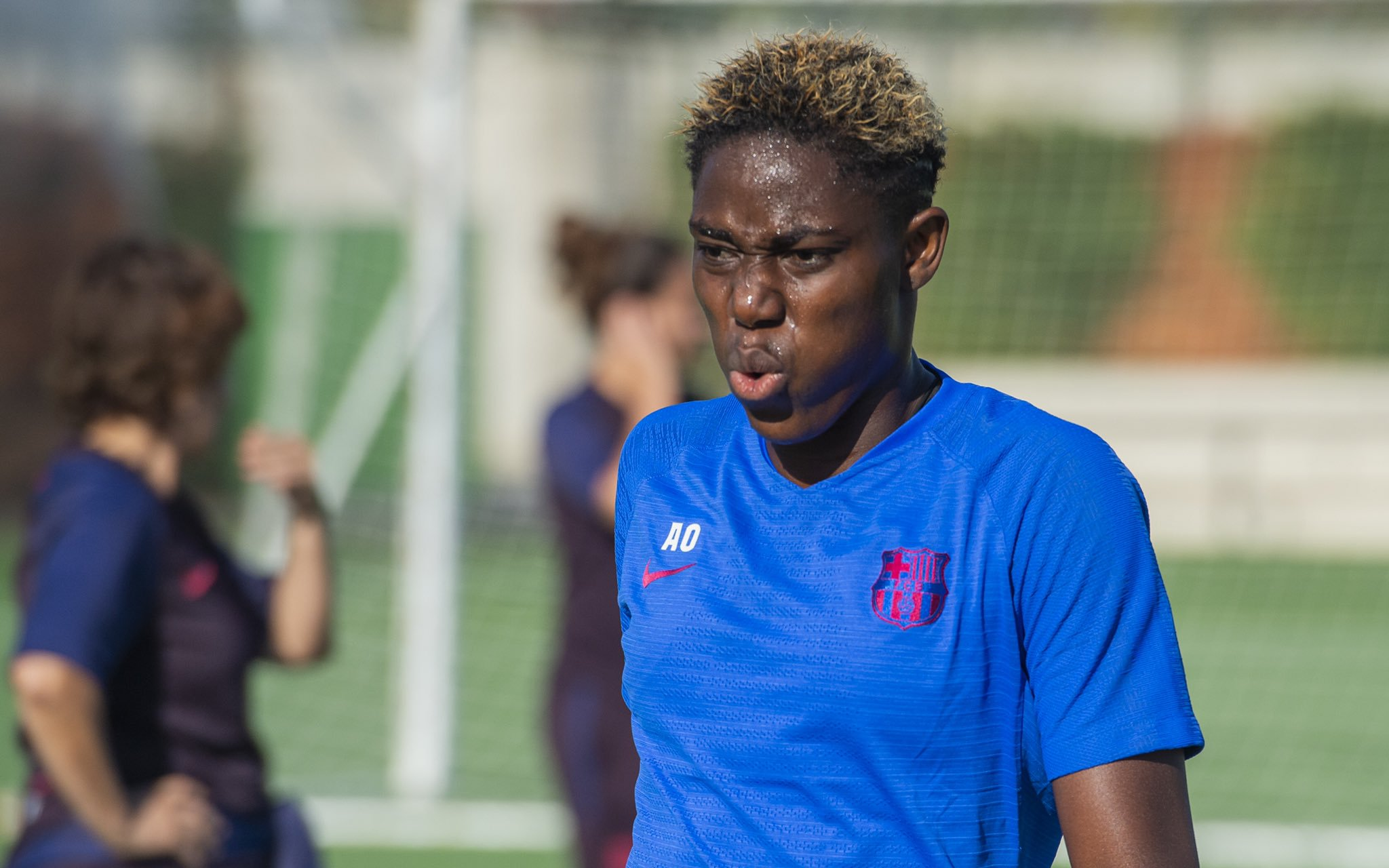 Oshoala Missing, As Ogbiagbevha Scores In 3-1 Loss Against Barcelona