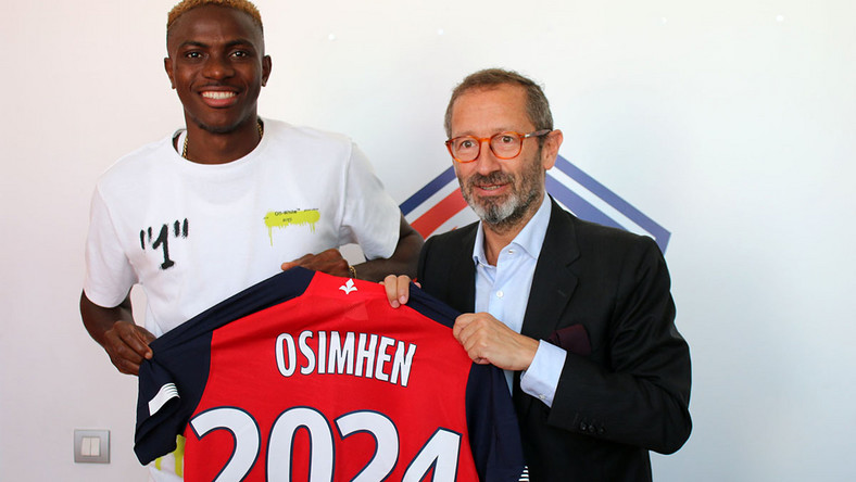 Osimhen's Transfer Prospects Leave Lille Officials In Dilemma