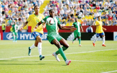 Osimhen, Chukwueze Recall Beating Brazil's Under-17 Team 3-0 In 2015