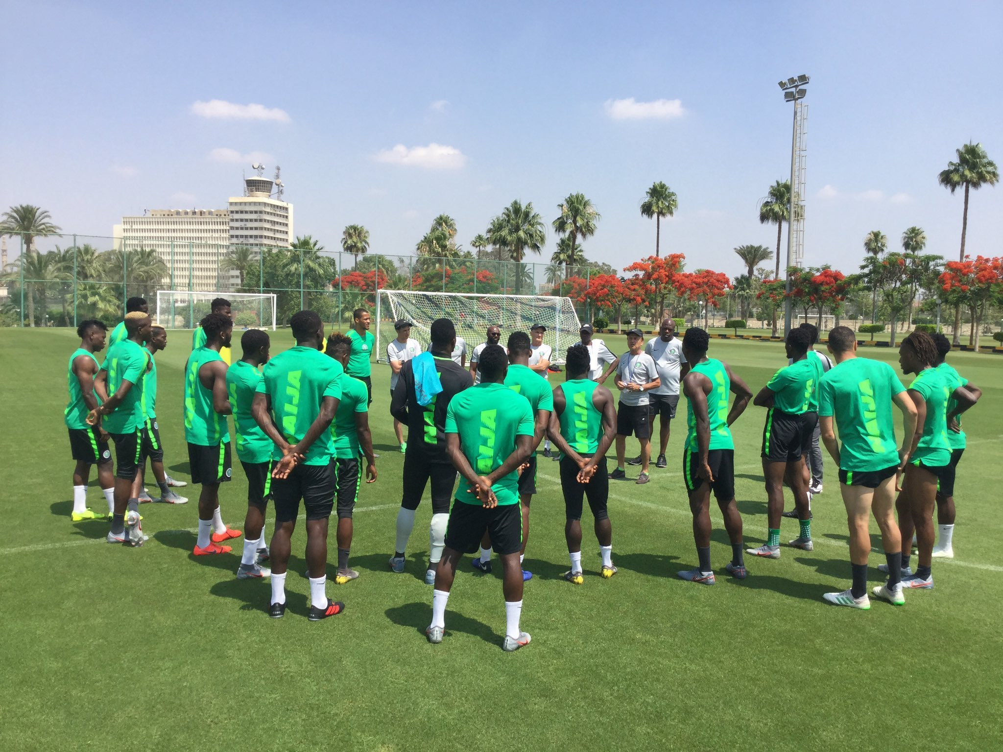 Gernot Rohr Outlines Ambitious Plot For Victory Over Brazil On Sunday