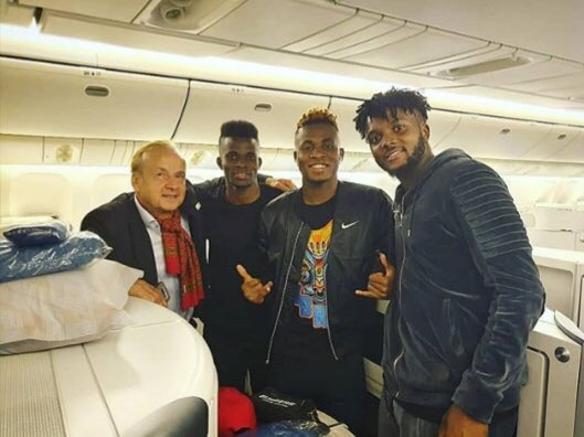 Rohr Roars Into Camp With Early Birds, Chukwueze, Azeez, Awaziem, Others