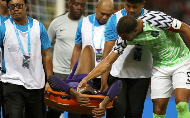 Uzoho Receives Okoye's Message For Speedy Recovery From Sunday's Injury