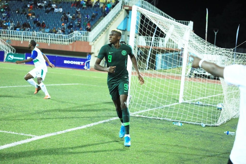Victor Osimhen Grabs Brace As Super Eagles Dismiss Lesotho 4-2 In Afcon Qualifying