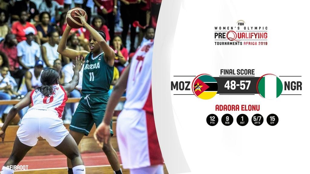 Pre-Olympic Qualifiers: D'Tigress Down Mozambique