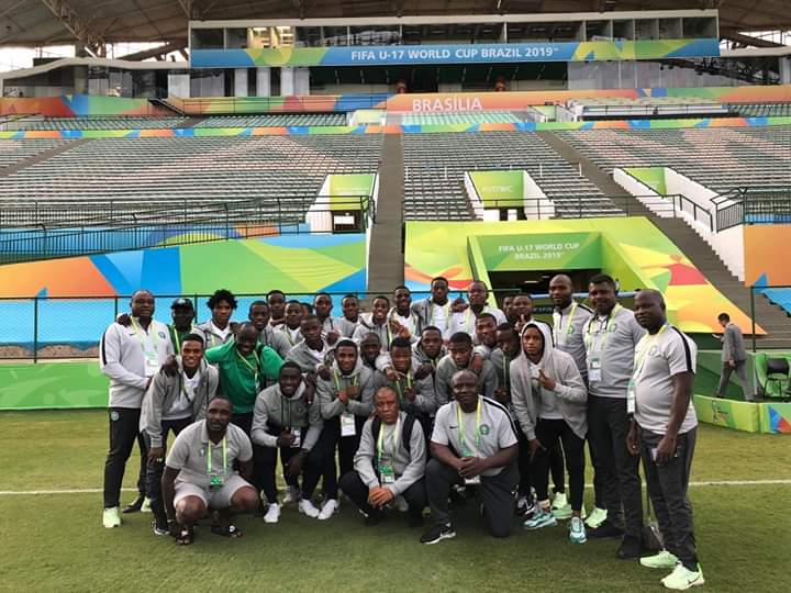 Dropped Golden Eaglets Midfielder Welcomes Hapless Squad Back Home