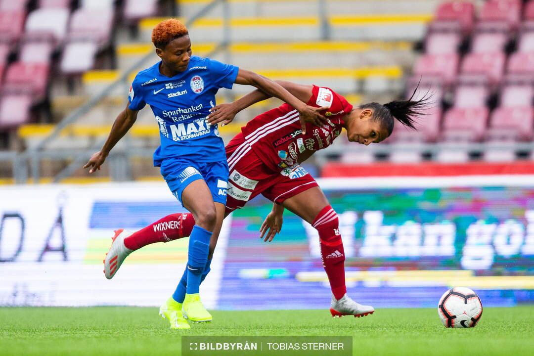 Halimatu Ayinde Grateful For Contract Extension With Swedish Women's Club