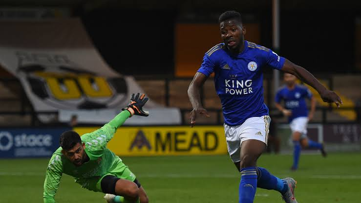 Iheanacho Listed For Leicester City Goal Of The Month, Battles Six Others
