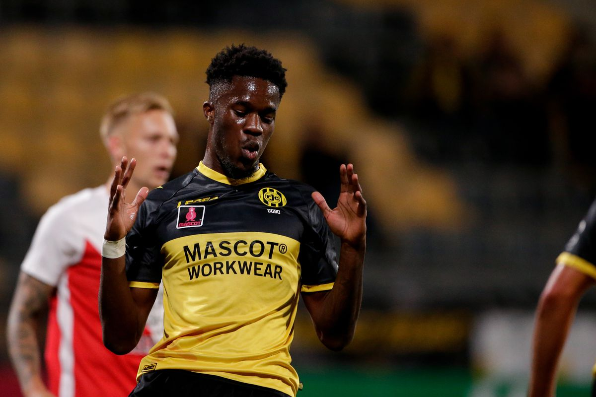 Ike Ugbo Relishes Ongoing Loan Spell At Roda JC Kerkrade Of Holland