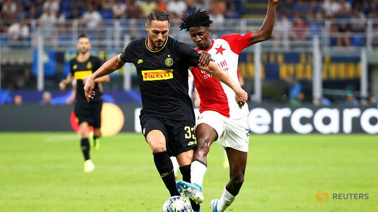 Olayinka Receives Rave Reviews For Top Performance Against Inter Milan
