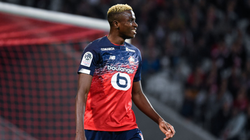 Osimhen Cleared For Lille's Match On Saturday, Misses Next Against PSG