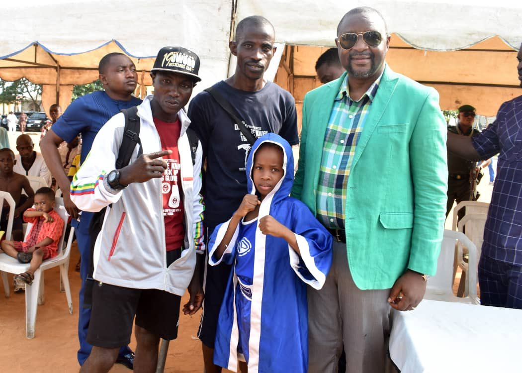 Sports Minister Lends Support To Lagos-based 8-year-old Female Boxer