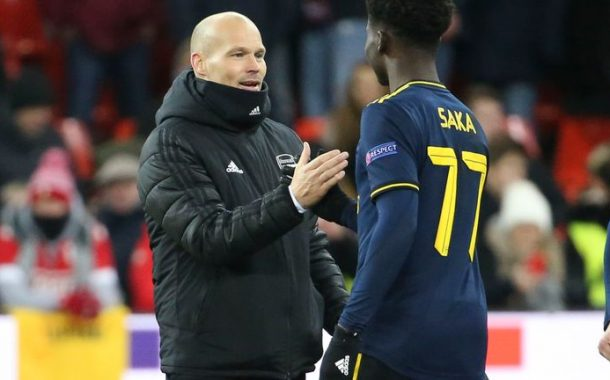 Bukayo Saka Wrecks Standard Liege, Earns Applause From Arsenal Coach