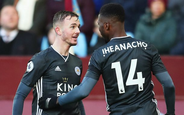 Iheanacho Heads For His 100th English Premier League Appearance