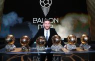 Messi Shoots Ahead Of Ronaldo With 6th Ballon d'Or, Thinks Retirement