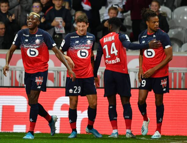 Osimhen Reveals 'Great Feeling' Playing Alongside Loïc Rémy At Lille