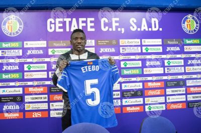 Etebo Thinks Big In Spain, Reveals Key Factors Behind His Move To Getafe