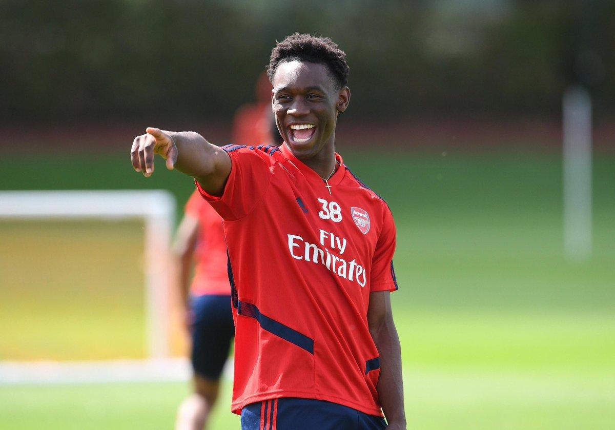 Arsenal's Folarin Balogun Attracts Transfer Interest From AC Milan