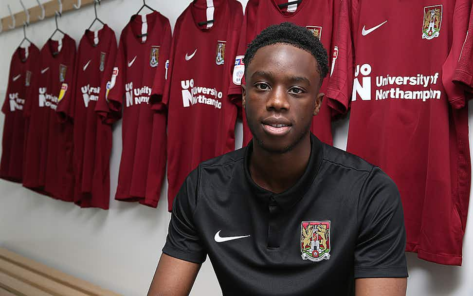 James Olayinka Leaves Arsenal, Eager To Gain Experience At Northampton