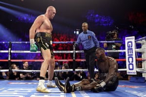 Tyson Filfils Promise, Knocks Out Deontay Wilder To Win Heavyweight Title