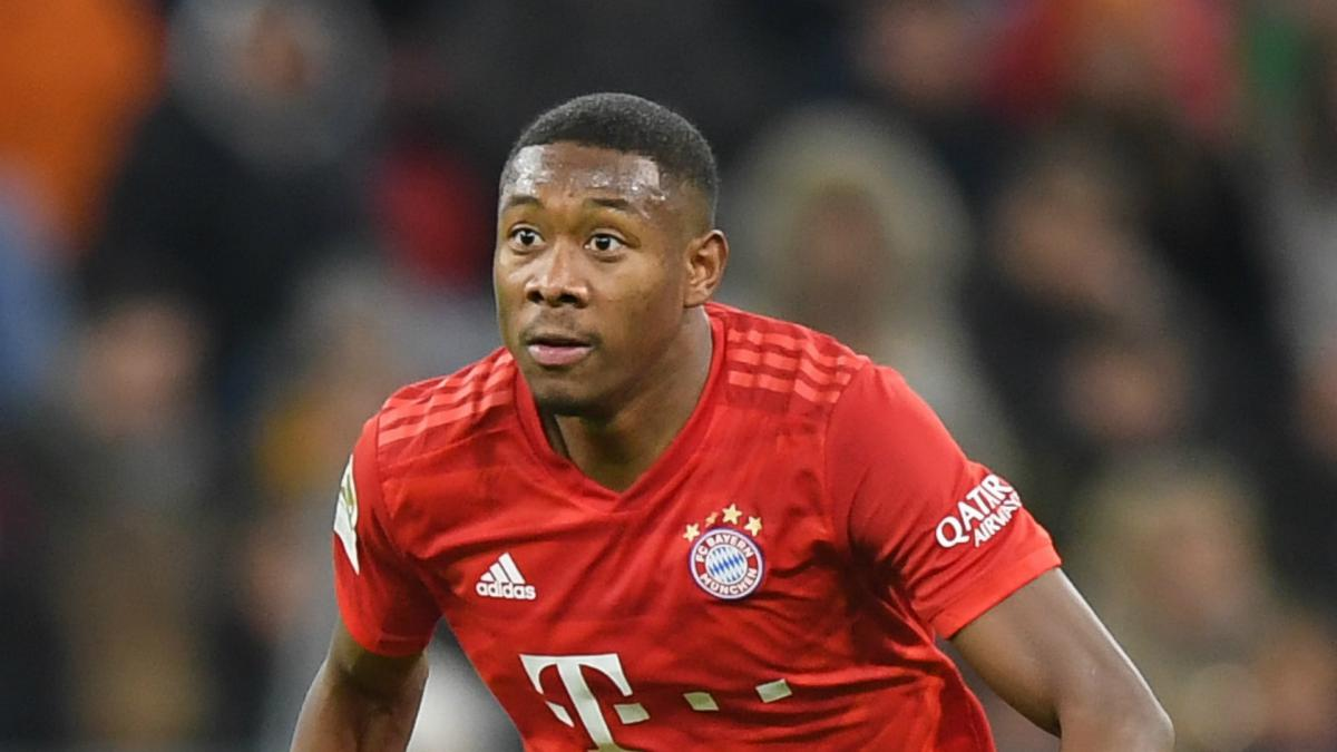 David Alaba Takes Stock After Playing In Central Defence At Bayern Munich