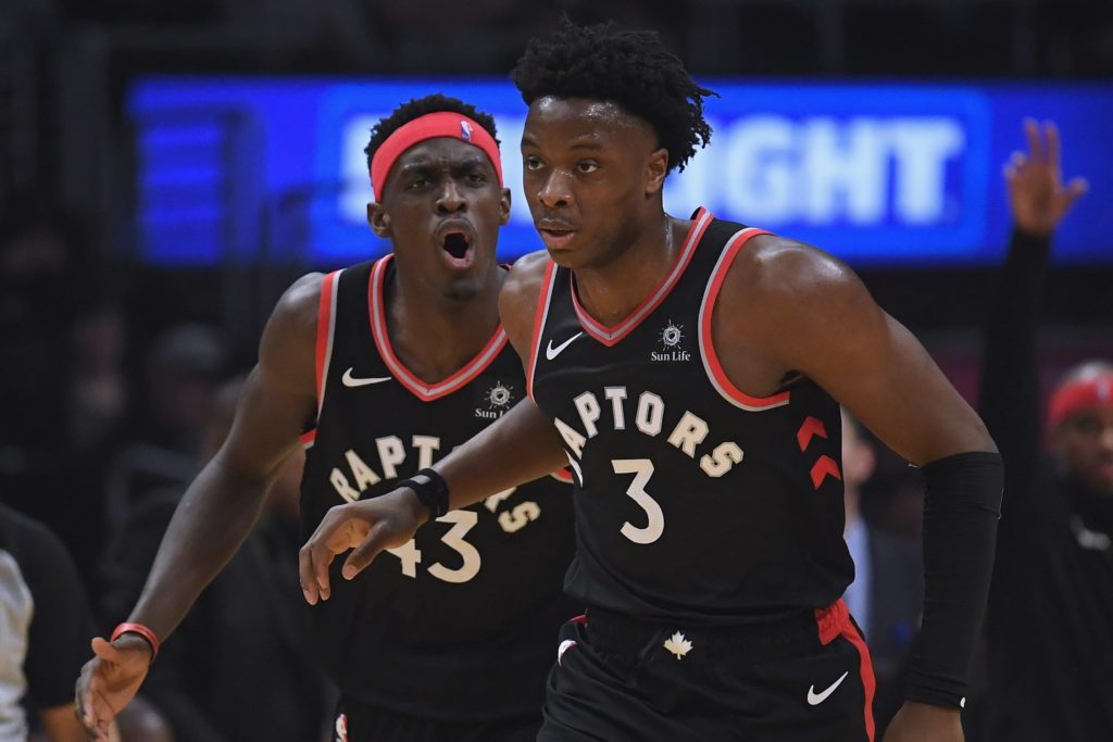 OG Anunoby Rises High On Advice From Toronto Raptors' Teammate