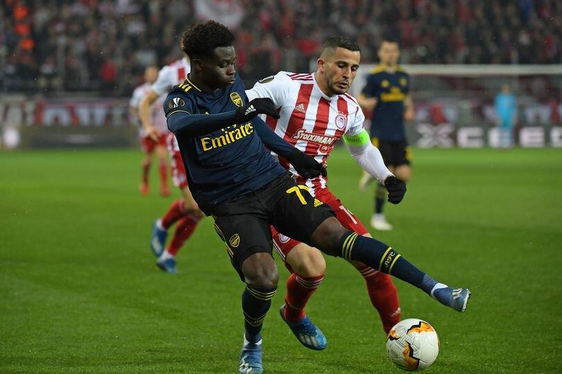 Bukayo Saka Gets Van Persie's Praise For Wonderful Assist In Europa League