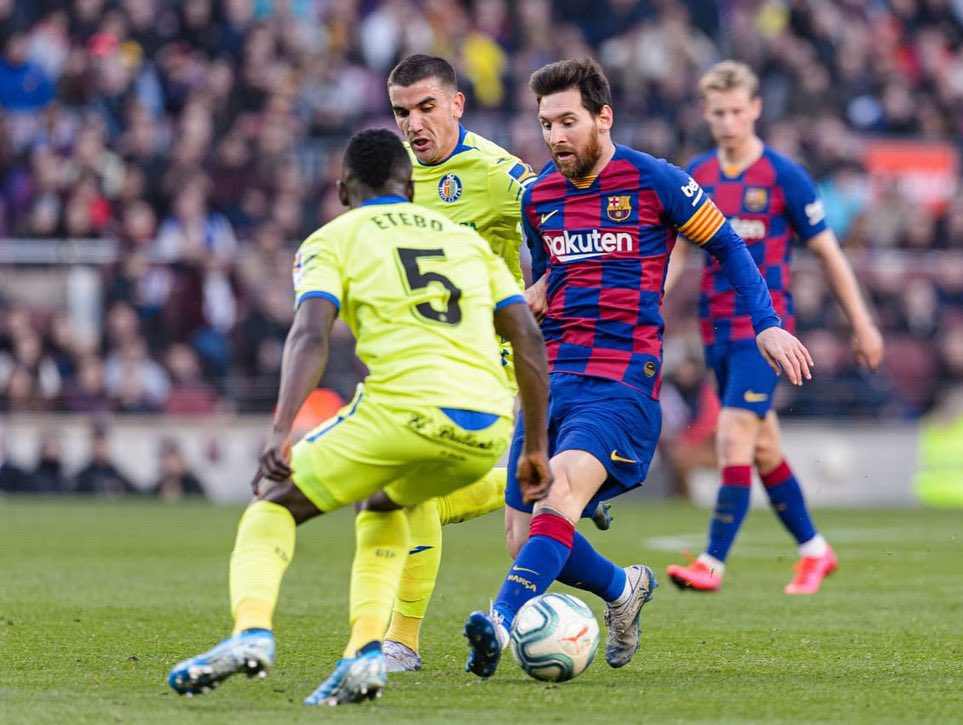 Etebo Admits Disappointment Against Barcelona, Urges Getafe To Keep Going