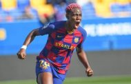 Oshoala Dedicates 15th League Goal To Her First Year Anniversary At Barca