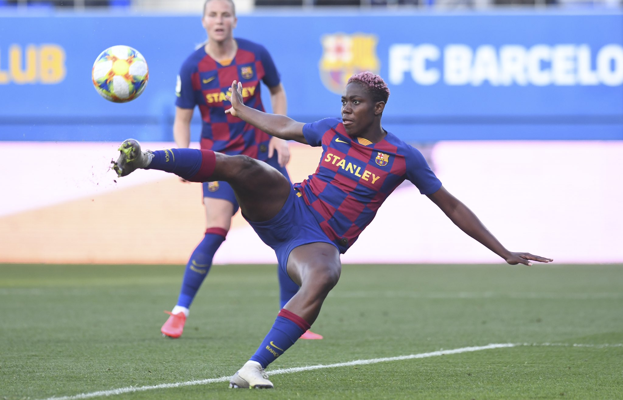 Oshoala Thanks Team Work For Eight Goals In Five Consecutive Matches