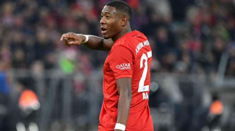 David Alaba Attracts Attention From Barcelona, Real Madrid, After Chelsea