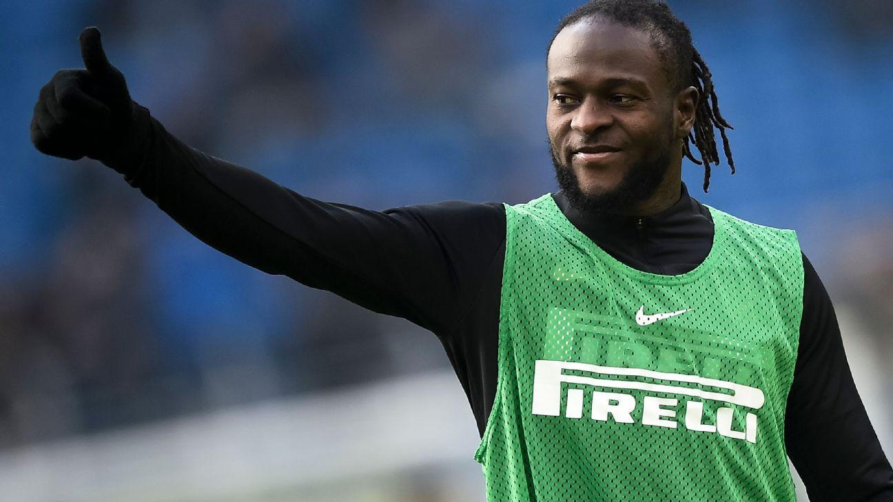 Victor Moses Likely To Welcome Aubameyang, Martial At Inter Milan