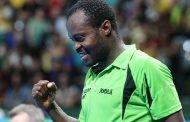 Aruna Quadri Remains Africa's Highest Ranked Men's Table Tennis Player