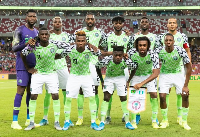 Eagles Retain 31st Spot In Latest FIFA World Ranking, 3rd In Africa