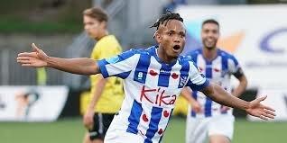 Chidera Ejuke Receives 10 Million Euros Price Tag At SC Heerenveen