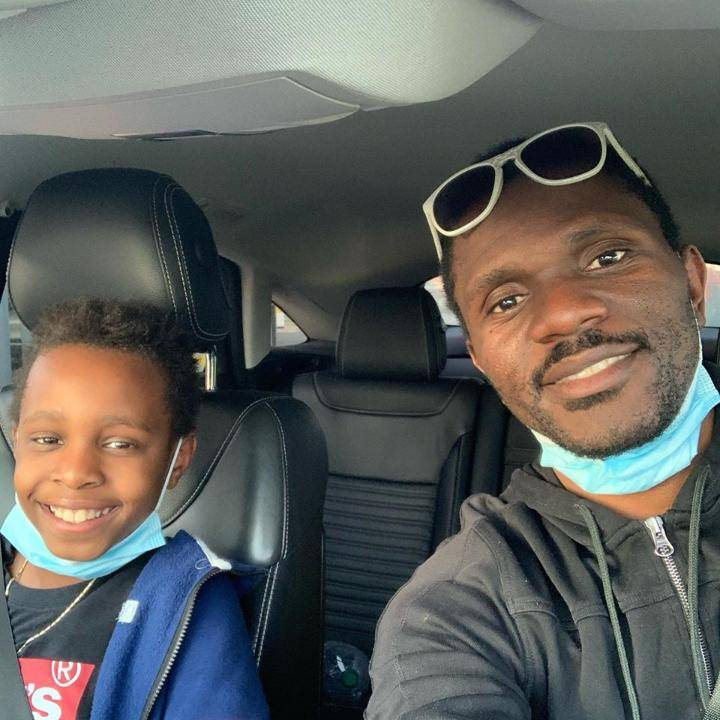 Ayo Makinwa Relishes Opportunity To Drive Round Town With His Son In Italy