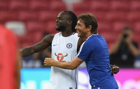 Victor Moses Reveals Strong Desire To keep Playing Under Antonio Conte