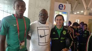Victor Osimhen Receives Condolence From Pinnick, After Father's Death