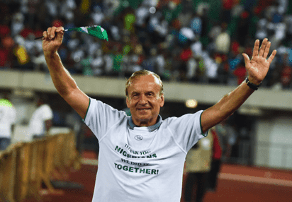 Gernot Rohr Admits He's Very Happy To Continue As Nigeria's Head Coach