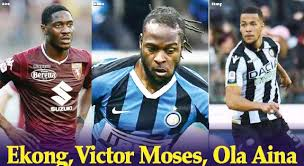 Troost-Ekong, Moses, Aina Resume Training; With Games Set To Return