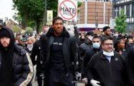 Anthony Joshua Joins British Group's Lengthy Street March Against Racism